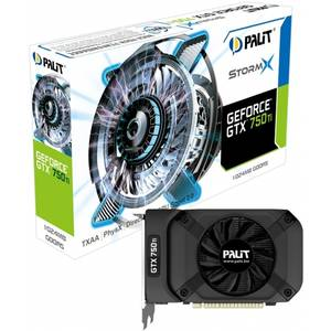 Placa video Palit-Daytona nVidia GeForce GTX 750 Ti OC StormX 1GB DDR5 128bit miniHDMI