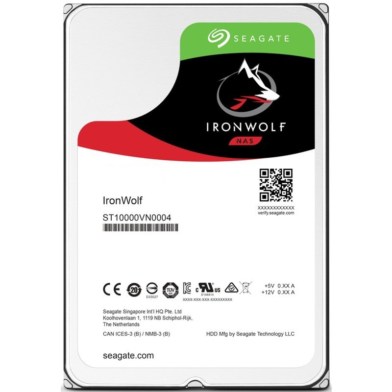 Hard disk IronWolf 4TB SATA-III 3.5 inch 5900rpm 64MB thumbnail