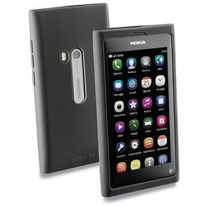 Husa Protectie Spate Cellularline SILICONCASEN9 Negru pentru NOKIA N9