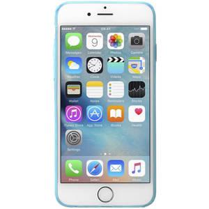 Husa Protectie Spate Cellularline FLUOCASEIPH647B Fluo Albastru pentru Apple iPhone 6, iPhone 6S