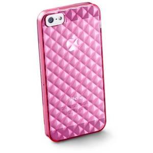 Husa Protectie Spate Cellularline GLAMIPHONE5P Roz pentru APPLE iPhone 5s, iPhone SE