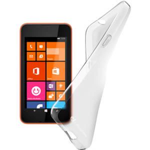 Husa Protectie Spate Cellularline SHAPECL530T Transparent pentru NOKIA Lumia 530