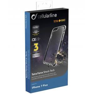 Husa Protectie Spate Cellularline TETRACPROIPH755K Tetra Pro pentru Apple iPhone 7 Plus