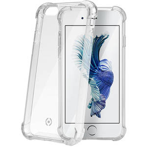 Husa Protectie Spate Celly ARMOR701WH Armor Alb pentru APPLE iPhone 6 Plus, iPhone 6s Plus
