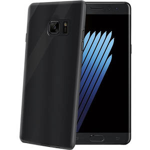 Husa Protectie Spate Celly GELSKIN587BK Negru pentru SAMSUNG Galaxy Note 7