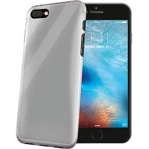 Husa Protectie Spate Celly GELSKIN801 Transparent pentru Apple iPhone 7 Plus