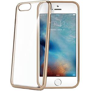 Husa Protectie Spate Celly LASER800GD Bumper Auriu pentru Apple iPhone 7