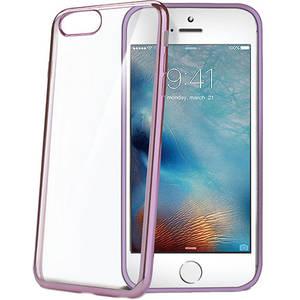 Husa Protectie Spate Celly LASER800RG Bumper Roz pentru Apple iPhone 7