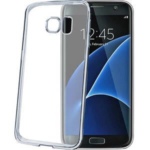 Husa Protectie Spate Celly BCLS7ESV Bumper Argintiu pentru Samsung Galaxy S7 Edge