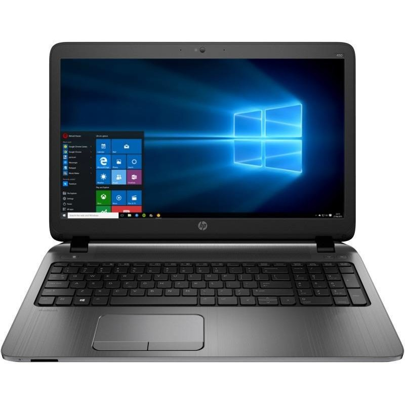 Laptop Probook 450 G3 15.6 Inch Hd Intel Core I3-6100u 4gb Ddr4 500gb Hdd Fpr Windows 10 Pro Downgrade La Windows 10 Pro Silver