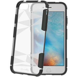 Husa Protectie Spate Celly PRYSMA800TR Prysma Transparent pentru Apple iPhone 7