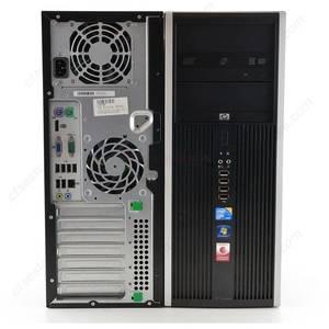 Desktop PC refurbished HP Elite 8000 Core 2 Duo E8400 3.0GHz 4GB DDR3 160GB HDD Sata DVD-RW Tower Soft Preinstalat Windows10 Home