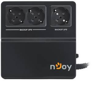 UPS nJoy EIDO 600 PWUP-OF060EI-AZ01B Black