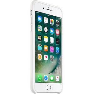 Husa Protectie Spate MMQT2 Silicon Alb pentru Apple iPhone 7 Plus