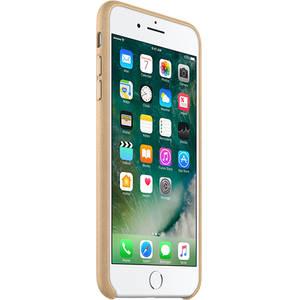 Husa Protectie Spate MMYL2 Tan Piele Auriu pentru Apple iPhone 7 Plus