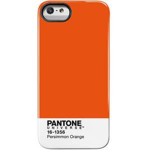 Husa Protectie Spate Case Scenario PA-IPH5-PO PANTONE PERSIMMON Portocaliu pentru APPLE iPhone 5s, iPhone SE