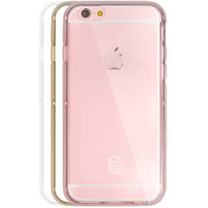 Husa Protectie Spate Case Scenario CS-IPSE-BU04 Bumper 3 in 1 Roz pentru APPLE iPhone SE