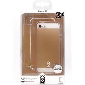 Husa Protectie Spate Case Scenario CS-IPSE-BU01 Bumper 3in1 Auriu pentru APPLE iPhone SE