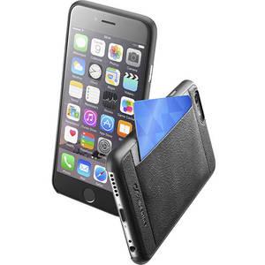Husa Protectie Spate Cellularline POCKETSLIMIPH647K Pocket Slim Negru pentru APPLE iPhone 6, iPhone 6S