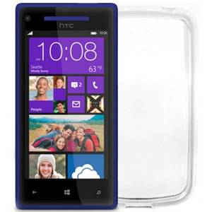 Husa Protectie Spate Cellularline PREMIEREC8X Premiere Transparent pentru HTC Windows Phone 8s