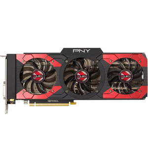 Placa video PNY nVidia GeForce GTX 1080 XLR8 OC GAMING 8GB DDR5X 256bit