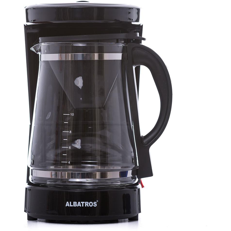 Cafetiera Dolce 2 in 1 1.2 litri 680W Neagra