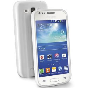 Husa Protectie Spate Cellularline SHCKACE3W Shocking Alb pentru Samsung Galaxy Ace 3