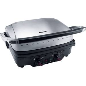 Gratar electric Heinner HEG-1800XMC 1800W Grill Inox