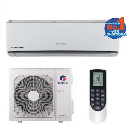 Aparat de aer conditionat Gree LOMO GWH18QD-K3DNA1C 18000BTU Inverter WI-FI Optional A++/A+ Alb