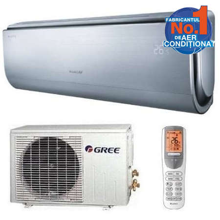 Aparat de aer conditionat Gree U-Crown GWH09UB-K3DNA4F Inverter 9000BTU A++/A++ Argintiu