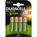 Acumulator Duracell AAK4 1300mAh 4buc Verde