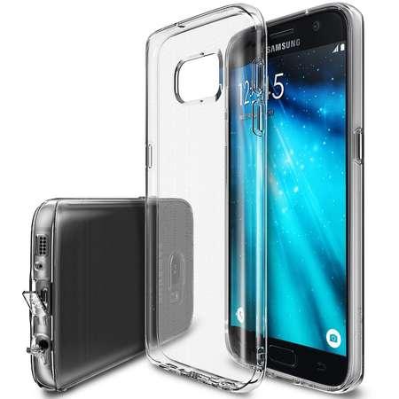 Husa Protectie Spate Ringke Air Crystal View plus folie protectie pentru Samsung Galaxy S7