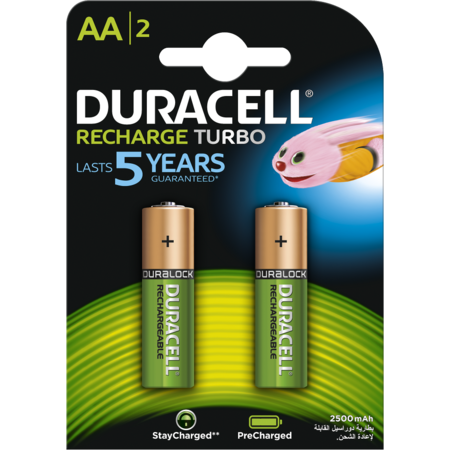 Acumulatori Duracell AAK2 StayCharged 2400mAh Verde