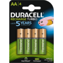 Acumulator Duracell AAK4 2500mAh StayCharged  4 bucati Verde