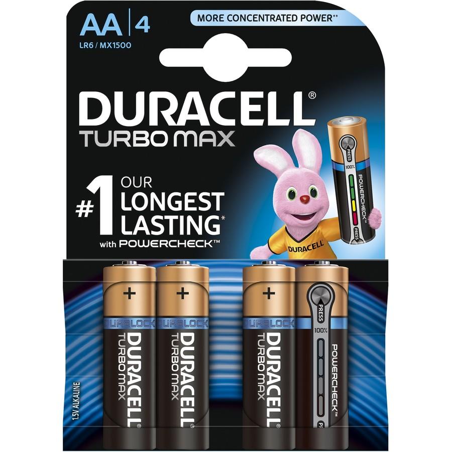 Baterie Turbo Max AA LR06 4buc Negru thumbnail