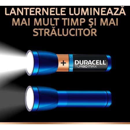 Baterie Duracell Turbo Max AA LR06 4buc Negru