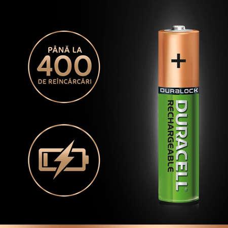Acumulator Duracell AAAK4 800mAh 4buc Verde