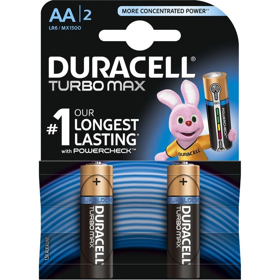 Baterie Turbo Max AA LR06 2buc Negru thumbnail