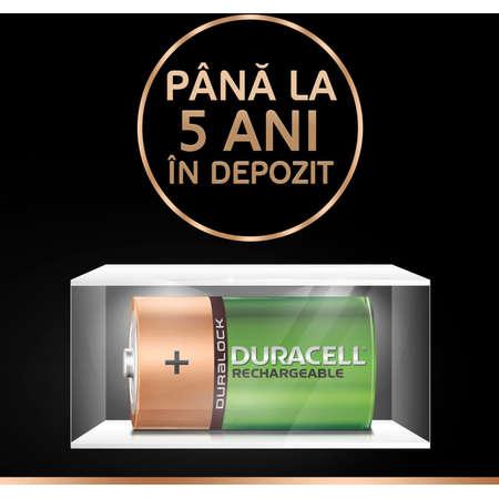 Acumulatori Duracell D 2200mAh Verde