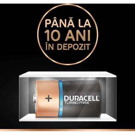 Baterie Duracell Ultra power D Negru