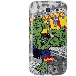 Husa Protectie Spate Anymode MCHD128KA4 MARVEL Comic Case Multicolor pentru SAMSUNG Galaxy S3