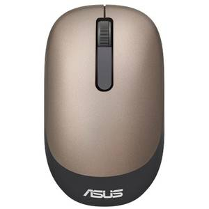 Mouse Asus WT205  Optic, Wireless, 3 butoane, gold/gray