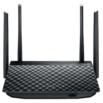 Router Wireless Rt-ac58u Ac1300 Dual-band Usb3.0 Gigabit Router