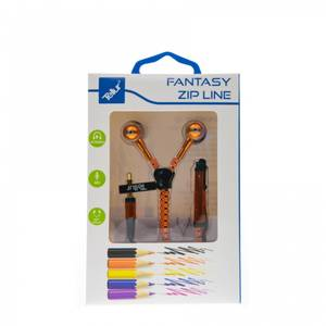 Casti Tellur In-Ear Fantasy Zip Orange