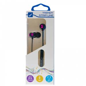 Casti Tellur In-Ear Trendy Purple