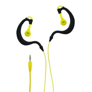Casti TnB Sport Waterproof Yellow