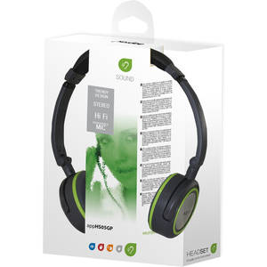 Casti Approx Foldable Stereo Grey / Green