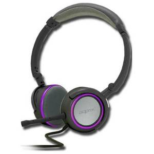 Casti Approx Foldable Stereo Grey / Purple