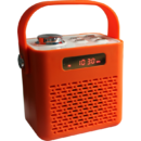 Bluetooth Blues Retro Orange