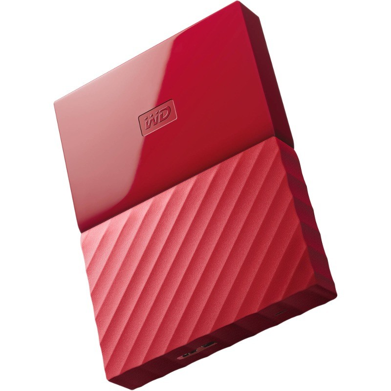 Hard Disk Extern My Passport New 1tb 2.5 Inch Usb 3.0 Red
